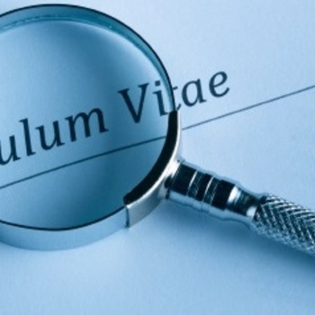 Curriculum Vitae With Priority Recruitment   Blog