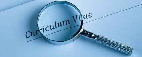 Curriculum Vitae With Priority Recruitment